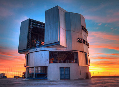 VLT at Sunset
