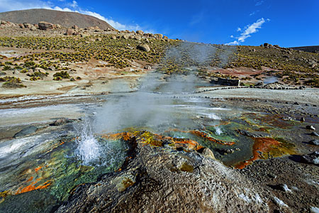 The Geyser El Tatio