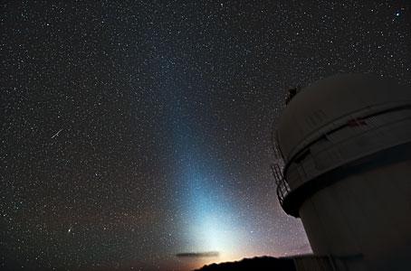 Zodiacal Light at La SIlla