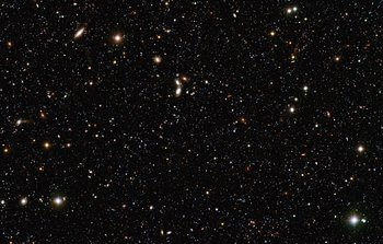 Mounted image 138: A pool of distant galaxies