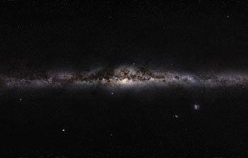 Mounted image 163: The Milky Way panorama
