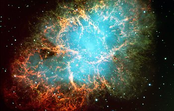 Mounted image 153: The Crab Nebula in Taurus