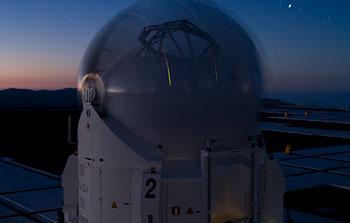 Mounted image 021: VLT Auxiliary Telescope