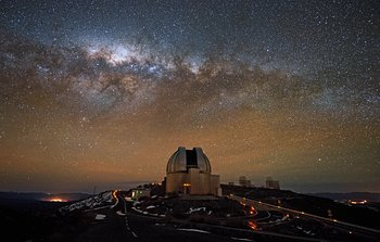 Mounted image 157: La Silla soon after Sunset