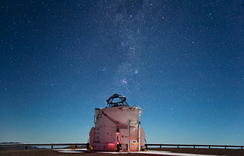 Mounted image 165: Starlight Shines Brightly Above Paranal