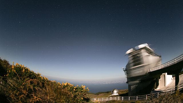 Telescopio Nazionale Galileo timelapse
