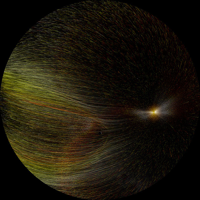 Dynamic Earth: Visualisation of a CME