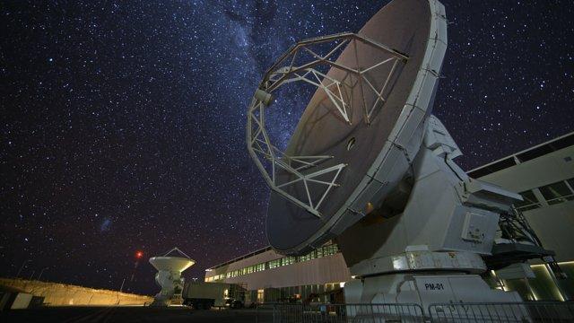 Time-lapse outside ALMA OSF
