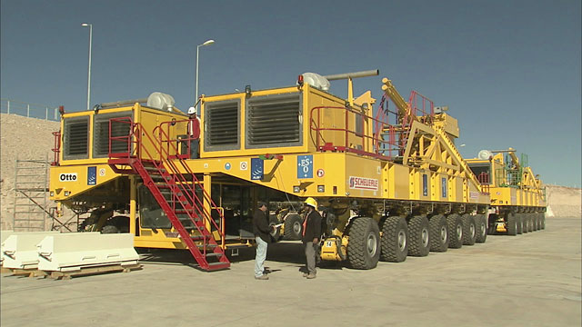 The ALMA Transporter - 1