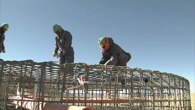 ALMA Construction Work