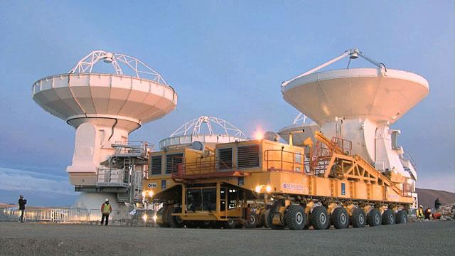European ALMA Antenna Brings Total on Chajnantor to 16 (Time-lapse)