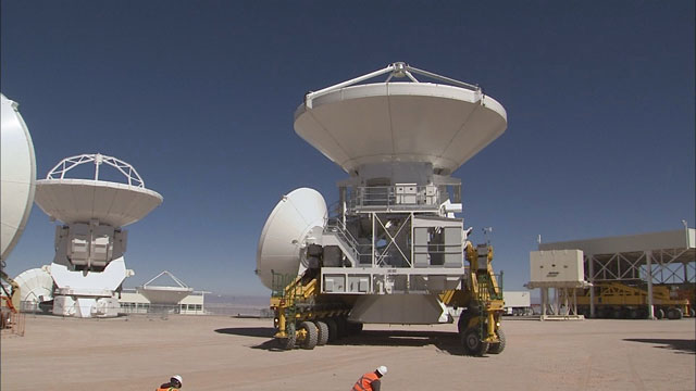 Relocation of an ALMA AEM antenna to the OSF (part 20)