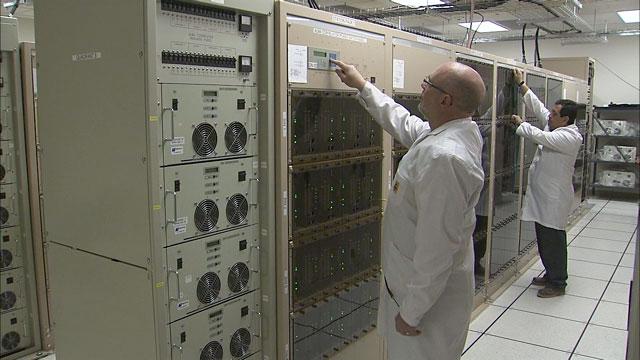 The ALMA correlator at the AOS Technical Building (part 1)