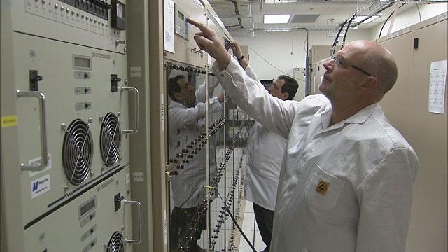 The ALMA correlator at the AOS Technical Building (part 5)