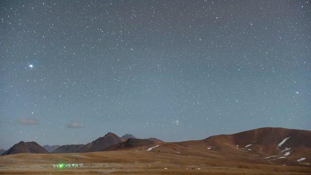 The Chajnantor plateau (time-lapse)
