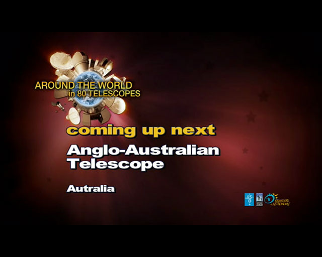 Anglo-Australian Telescope (AW80T webcast)