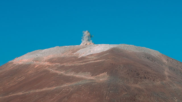 Blowing the lid off Cerro Armazones