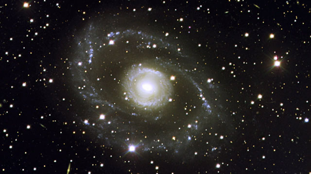 The barred spiral galaxy ESO 269-57