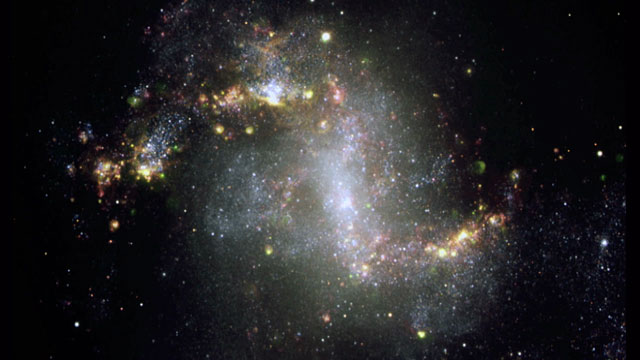 The starburst galaxy NGC 1313