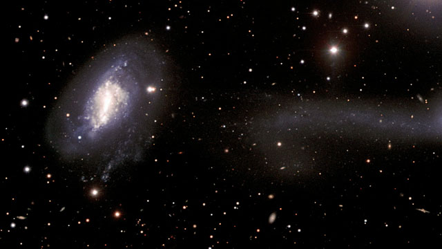 Colliding Galaxies: NGC 5917 and MCG-01-39-003