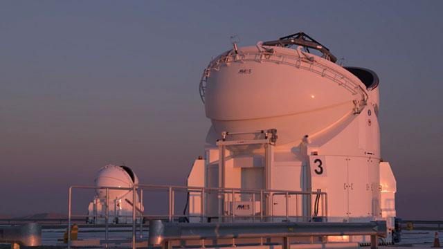 Auxiliary Telescope Time-lapse B