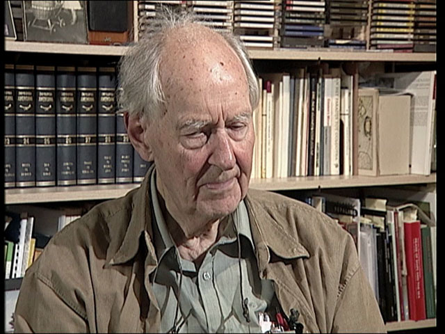 Prof. Adriaan Blaauw (1914–2010) speaks about ESO's collaboration with CERN