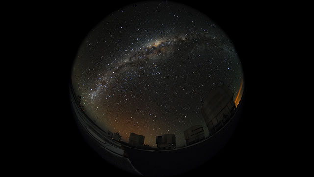 Paranal fulldome time-lapse