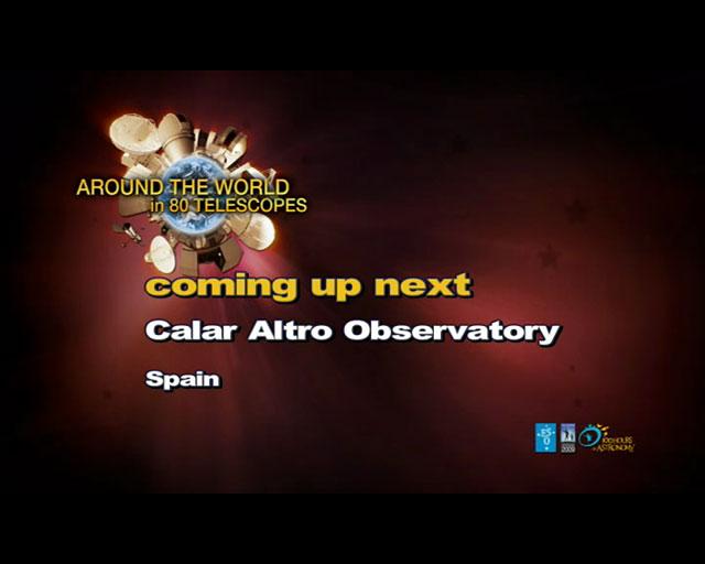 Calar Alto Observatory (AW80T webcast)