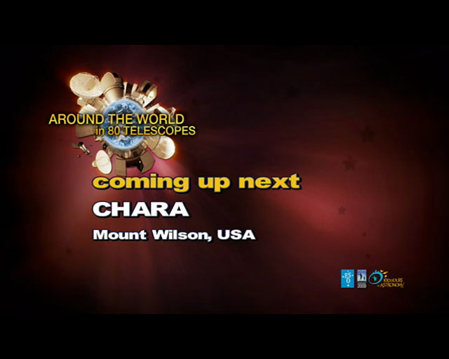 CHARA (AW80T webcast)