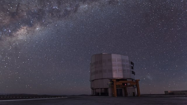 An evening time-lapse at Paranal
