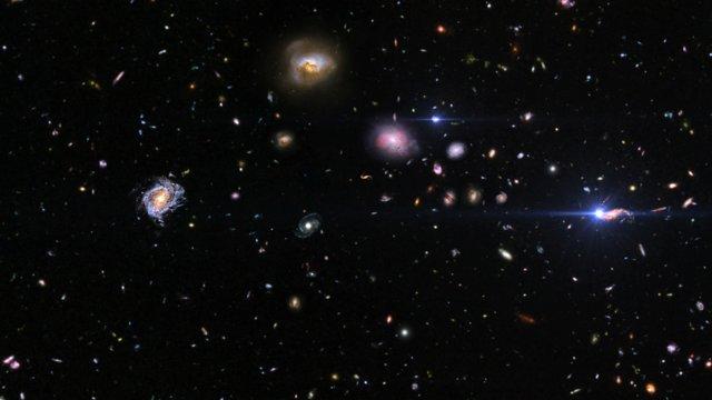 Time-lapse artístico de una supernova distante