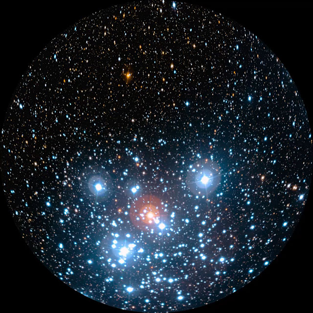 Fulldome of the Jewel Box cluster