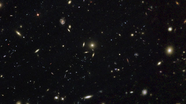 Pan across Abell 2744, Pandora's Cluster