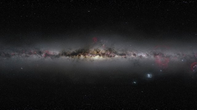 Zooming in on the centre of the Milky Way