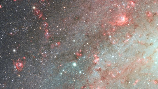 A close-up look at the Triangulum Galaxy