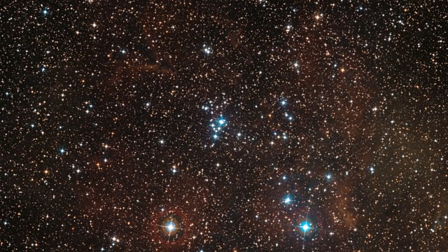 Zooming in on the star cluster NGC 2367