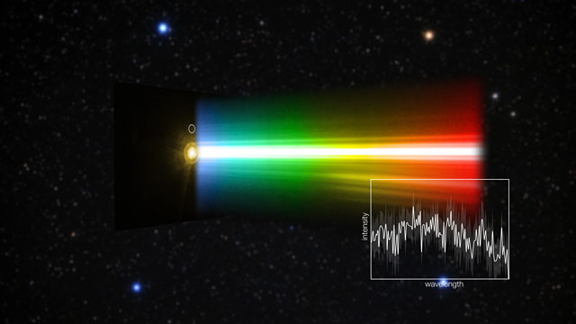 Spectrum of an Exoplanet (Europe to the Stars Clip)