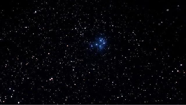 Eyes on the Skies - Zooming into the Pleiades Cluster