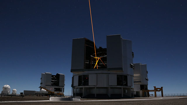 VLT Adaptive Optics time-lapse