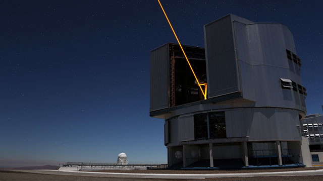 VLT Unit Telescope time-lapse