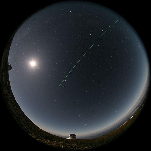 Fulldome nighttime timelapse at Observatorio del Roque de los Muchachos