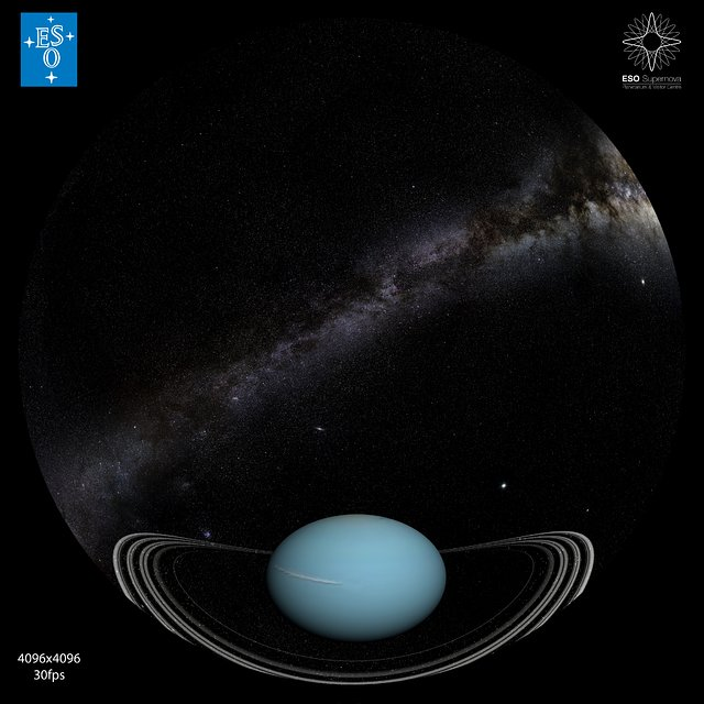 """From Earth to the Universe"" — Uranus"
