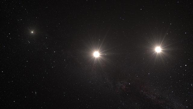 Earth to Alpha Centauri