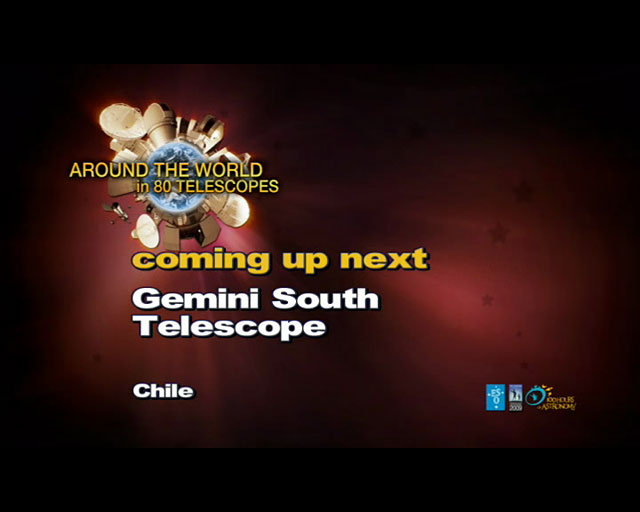 Gemini South (AW80T webcast)