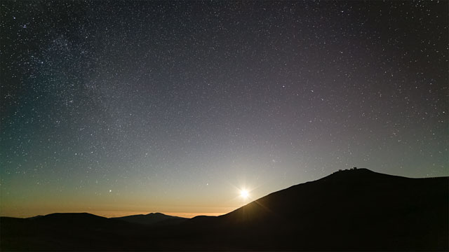 Raise of the faint stars
