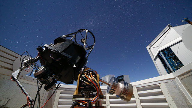 A busy small telescope