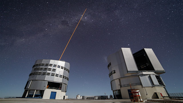 Shooting at the centre of the Milky Way