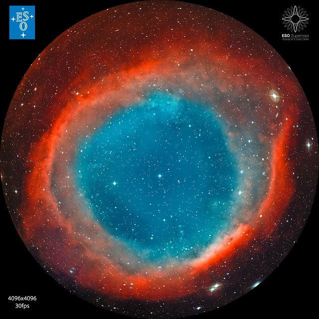 The Helix Nebula (for fulldome planetarium use)