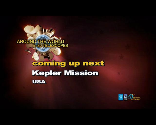 Kepler Mission (AW80T webcast)