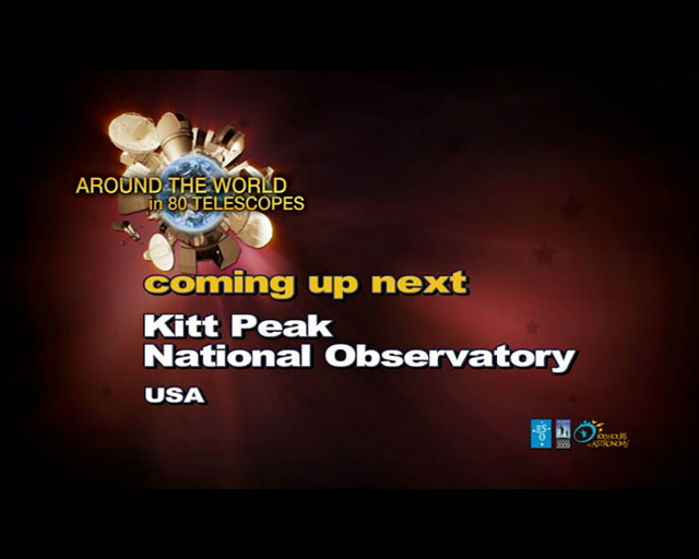 Kitt Peak (AW80T webcast)